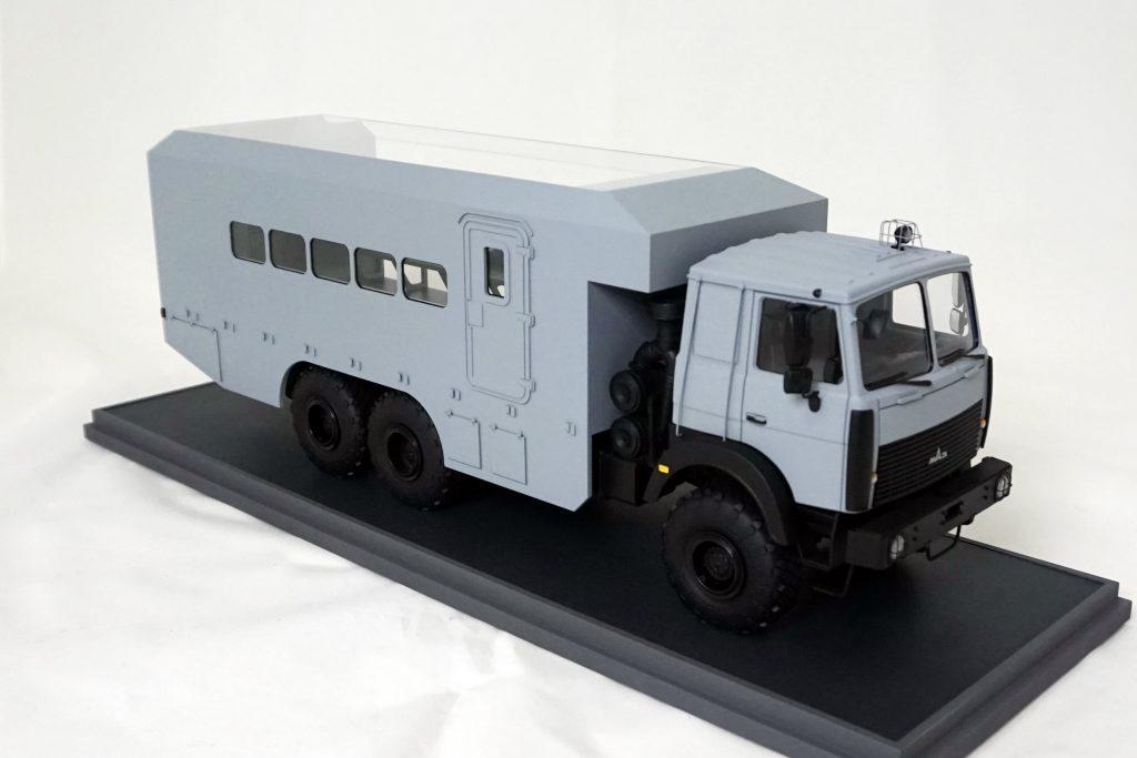 «Dozor» vehicle for accommodating the crew